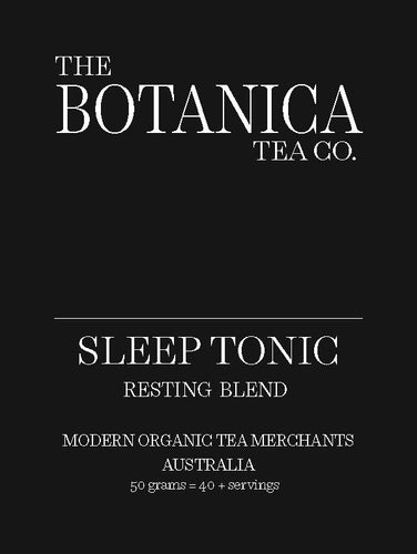 SLEEP TONIC Resting Blend