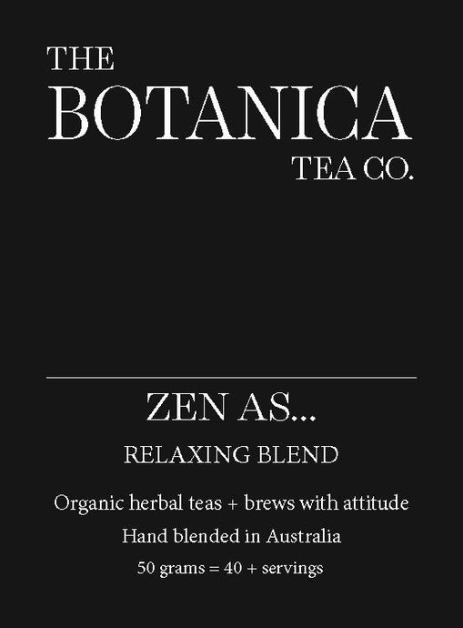 ZEN AS… Relaxation Blend