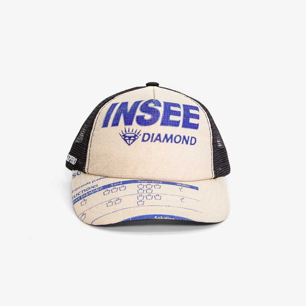 Recycling Cap Mesh 19 - Blue Insee