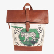 Recycling Reisetasche (Shorttrip) - Green Tiger