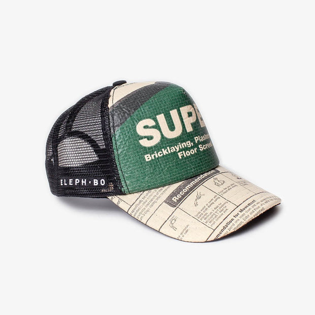 Cap Mesh - Green Super