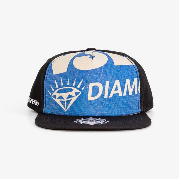 Recycling Cap Cotton - Blue Diamond