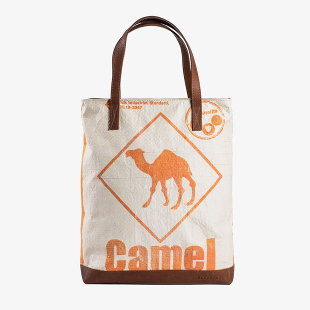 Tote Zip - Orange Camel