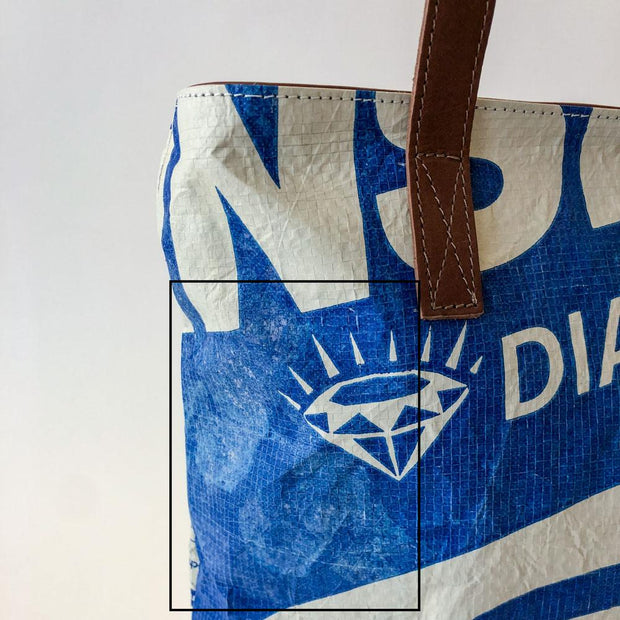 Overused Tote Zip - Blue Eagle