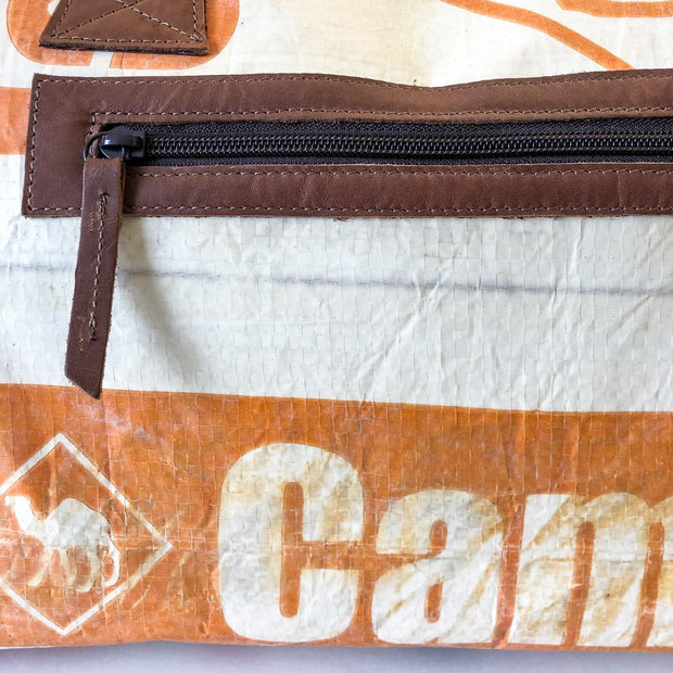 Overused Sporty - Orange Camel
