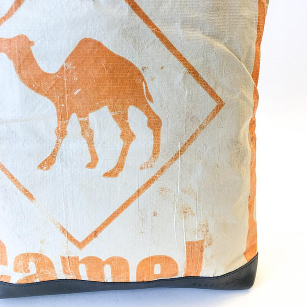 Overused Tote - Orange Camel