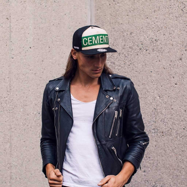 Snapback - Green Cement