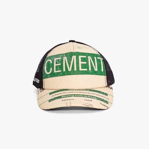 Recycling Cap Mesh 19 - Green Cement