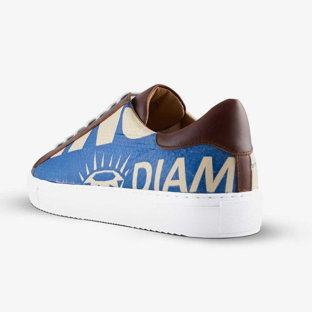 Sneaker Low - Blue Diamond