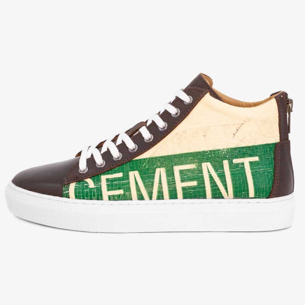 Sneaker High - Green Cement