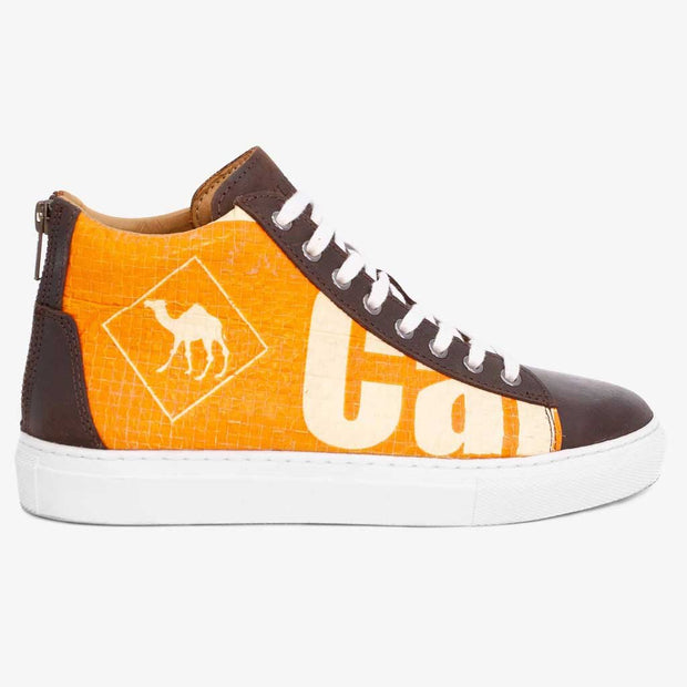 Recycling Sneaker High 18 - Orange Junior