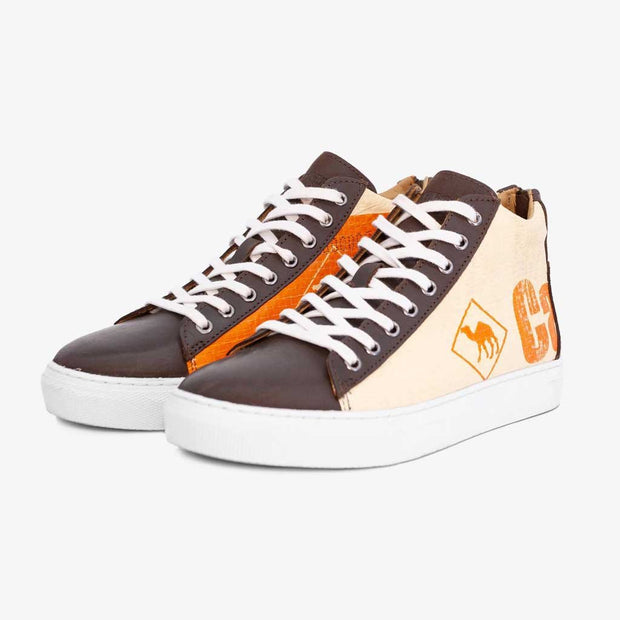 Recycling Sneaker High - Orange Junior