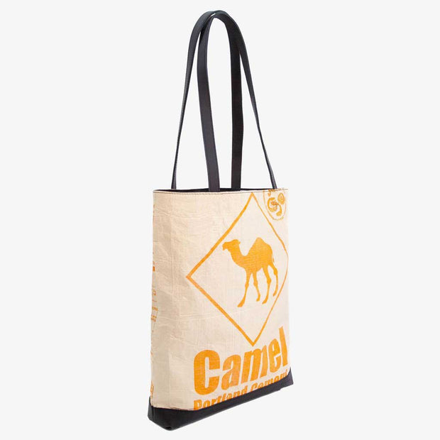 Recycling Tote Bag - Orange Camel