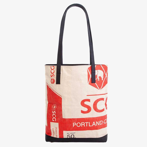 Recycling Tote Bag - Red Elephant