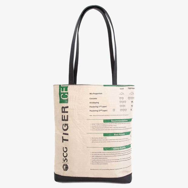 Overused Tote - Green Tiger