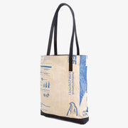 Recycling Tote Bag - Blue Eagle