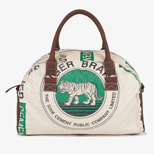 Recycling Reisetasche (Weekender) - Green Tiger