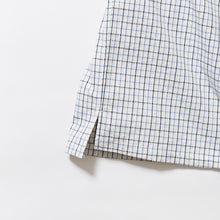 画像をギャラリービューアに読み込む, SASHIKO TATTERSALL Half Sleeve Open Collar Shirt