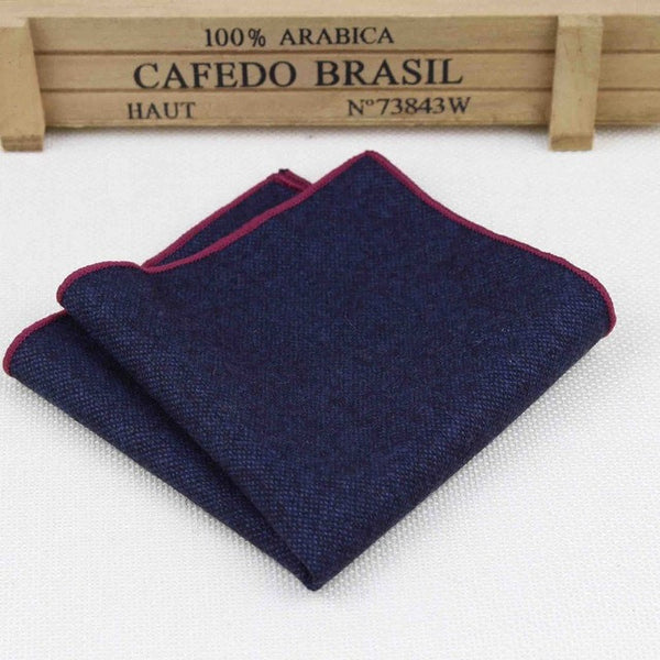 Vintage Gent-Dark Blue with Red Piping