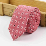 The Kensington Tie in Light Pink Flowers