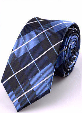 The California Dream in Blue/Dark Blue/Black Plaid