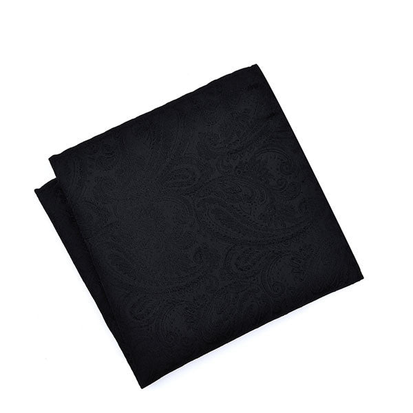 Black on Black Paisley (Established Gent)