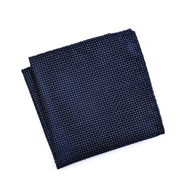 Dark Blue with Black Cross Pattern (Established Gent)