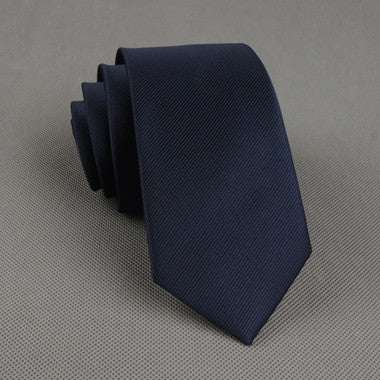 The Businessman in Navy Blue