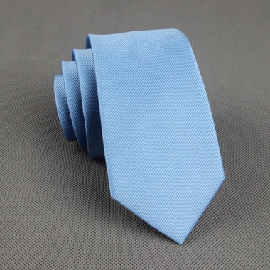 The Businessman in Sky Blue