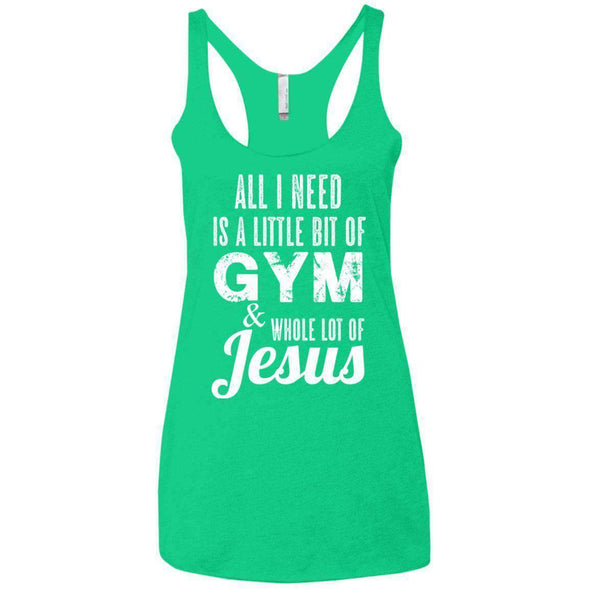 All I Need is Jesus T-Shirts CustomCat Envy X-Small