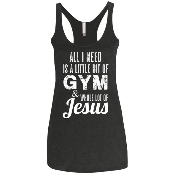All I Need is Jesus T-Shirts CustomCat Vintage Black X-Small