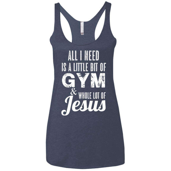 All I Need is Jesus T-Shirts CustomCat Vintage Navy X-Small