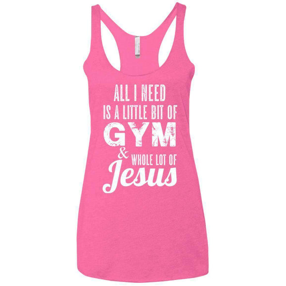All I Need is Jesus T-Shirts CustomCat Vintage Pink X-Small