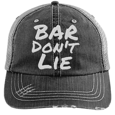 Bar Don't Lie Hats CustomCat Black/Grey One Size