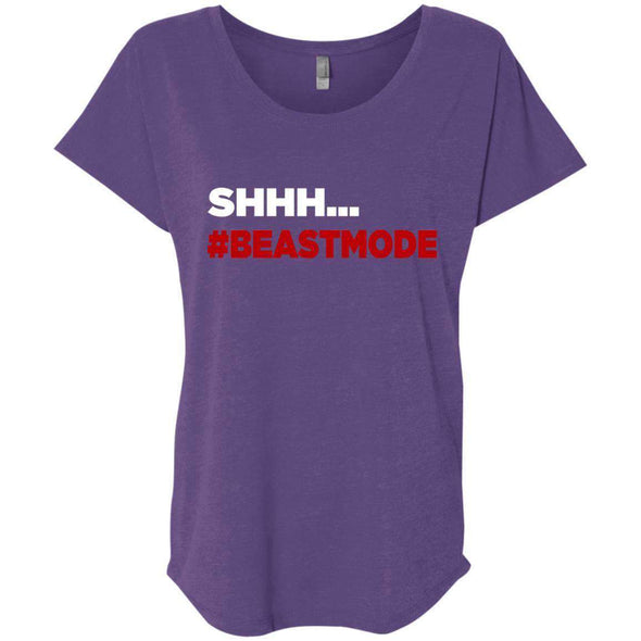 beastmode red T-Shirts CustomCat Purple Rush X-Small