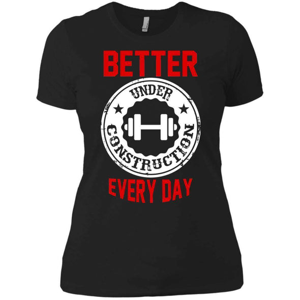 Better Everyday white T-Shirts CustomCat Black X-Small