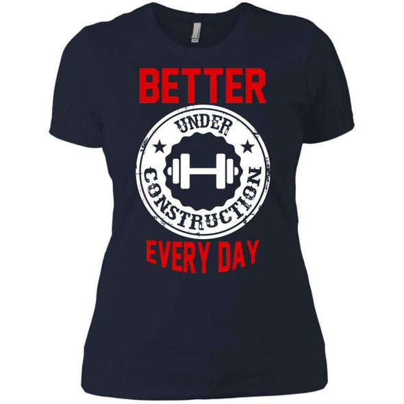 Better Everyday white T-Shirts CustomCat Midnight Navy X-Small