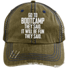 Bootcamp They Said Hats CustomCat Brown/Navy One Size