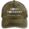 F BURPEES Hats CustomCat Brown/Navy One Size