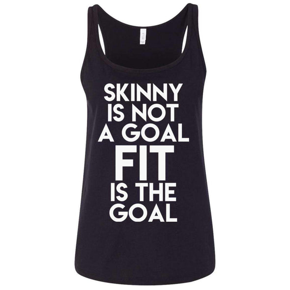 Fit is the Goal T-Shirts CustomCat Black S