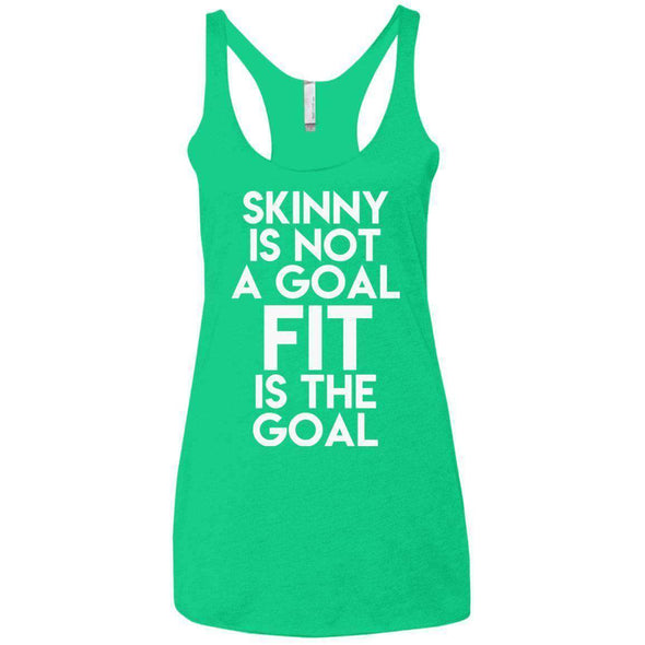Fit is the Goal T-Shirts CustomCat Envy X-Small