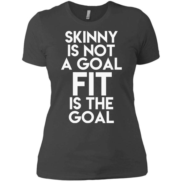 Fit is the Goal T-Shirts CustomCat Heavy Metal X-Small