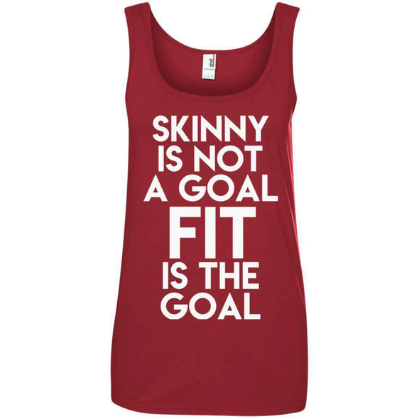 Fit is the Goal T-Shirts CustomCat Independence Red S