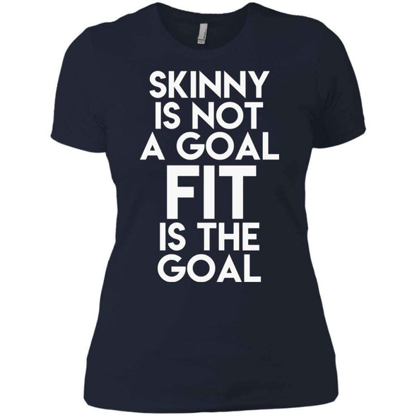 Fit is the Goal T-Shirts CustomCat Midnight Navy X-Small