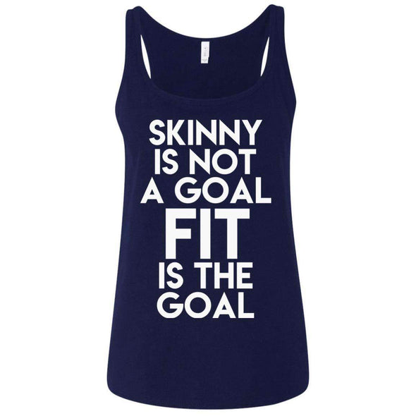 Fit is the Goal T-Shirts CustomCat Navy S