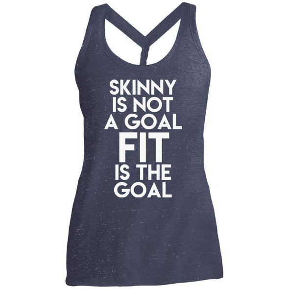 Fit is the Goal T-Shirts CustomCat Navy/Royal Cosmic X-Small