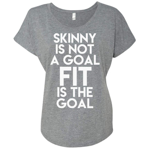 Fit is the Goal T-Shirts CustomCat Premium Heather X-Small