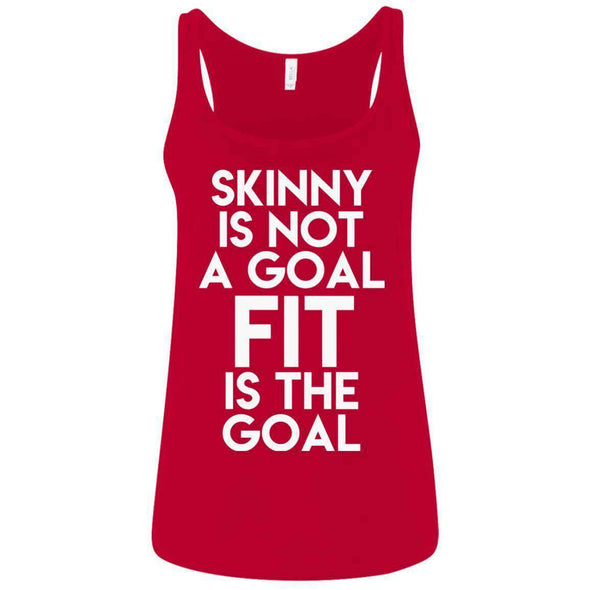 Fit is the Goal T-Shirts CustomCat Red S