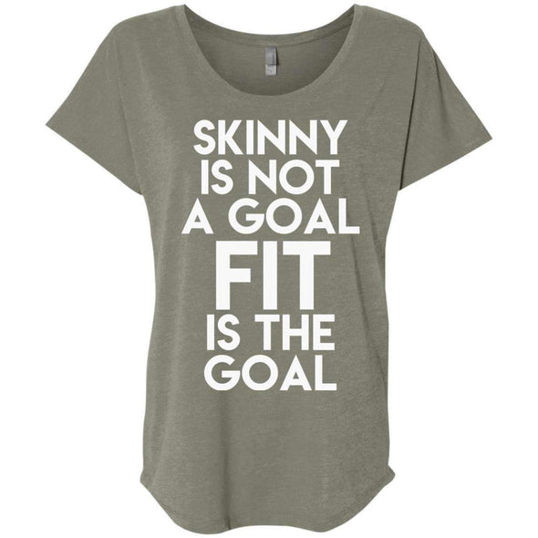 Fit is the Goal T-Shirts CustomCat Venetian Grey X-Small