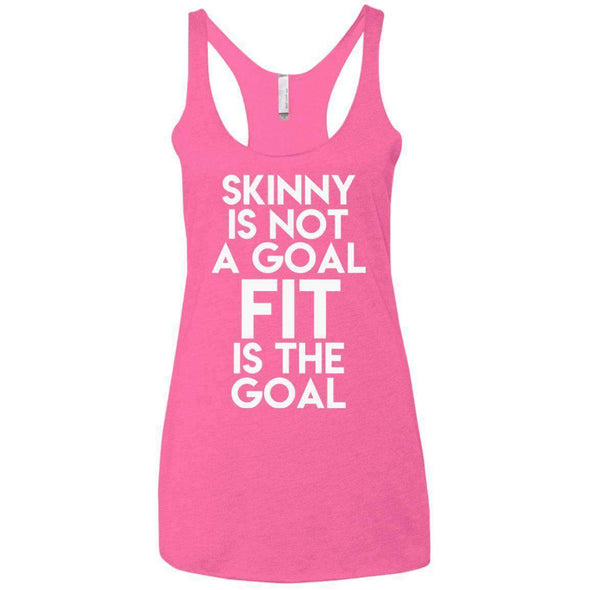 Fit is the Goal T-Shirts CustomCat Vintage Pink X-Small